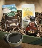 Προτάσεις δώρων. Έτοιμα καλάθια με ποικιλία προϊόντων και καφέδων για  δώρα.