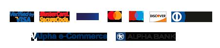 με πιστωτική/χρεωστική κάρτα μέσω Alpha Bank.
