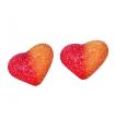 Καραμέλες Ζελεδάκια Καρδιά Ροδάκινο.